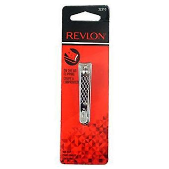 Revlon nail clippers, classic, 1 ea
