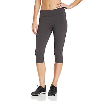 Jockey Women-apos;s Judo Legging avec Wide Waistband,, Charbon Heather, Taille Grande
