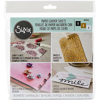 Sizzix Paper Leather 6