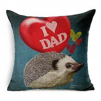 Wellindal I Love Dad Cushion Cover Cotton (Decoratie , Textiel , Kussens , Kussens)