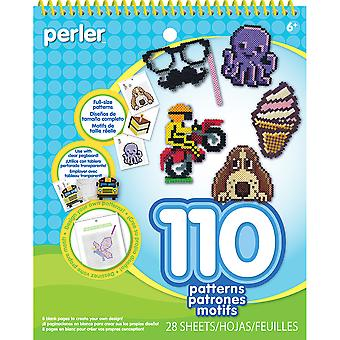 Perler Pattern Pad-Striped Beads 80-22797