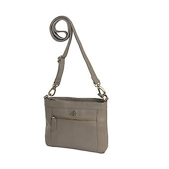 Dr Amsterdam shoulder bag Basil Taupe