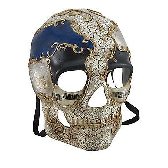 Geformte Decoupage Kunst Crackle Finish geformt Skull Maske