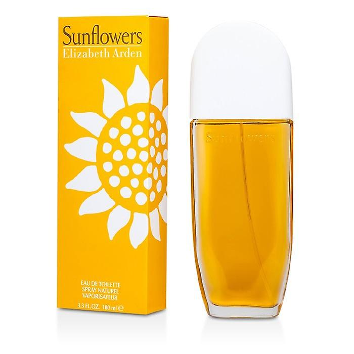 Elizabeth Arden Sunflowers Eau De Toilette Spray 100ml/3.3oz