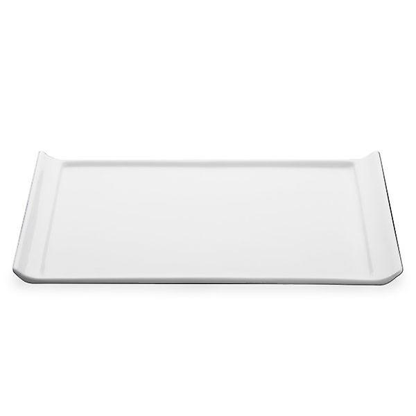 Porcelain Display Plate 33cm White For Home or Hotel