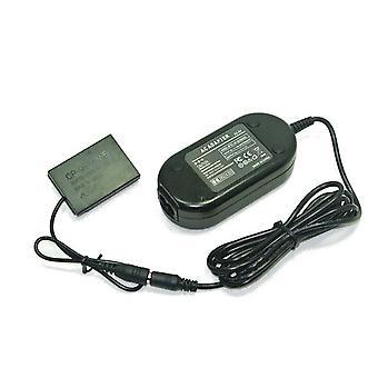 Dot.Foto ersättare Fujifilm AC-Adapter Kit (AC-5VX AC Mains Power Adapter & CP-95 DC Coupler) för Fujifilm X 100, X100s - levereras med UK 3-polig nätkabel