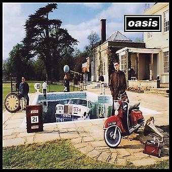 Oasis - være her nu (LP) [Vinyl] USA importerer