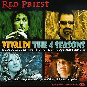A. Vivaldi - Vivaldi: De 4 årstider [CD] USA import