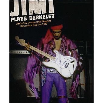 Jimi Hendrix - Jimi spiller Berkeley [DVD] USA import