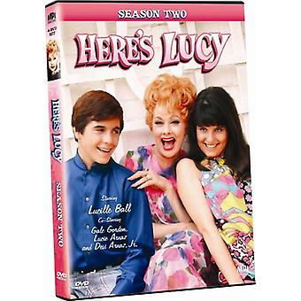 Here's Lucy: Season Two [DVD] USA import