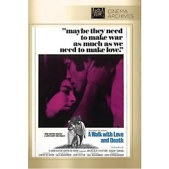 Promenad med kärlek & död [DVD] USA import
