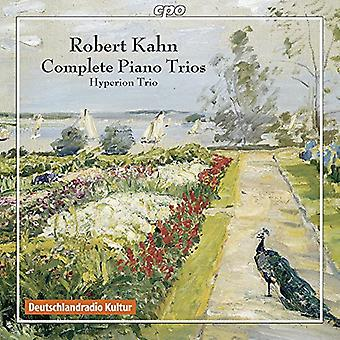 Kahn - import Comp Piano Trios [CD] USA