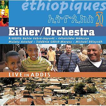Ethiopiques - Vol. 20-Ethiopiques: Live i Addis [CD] USA import