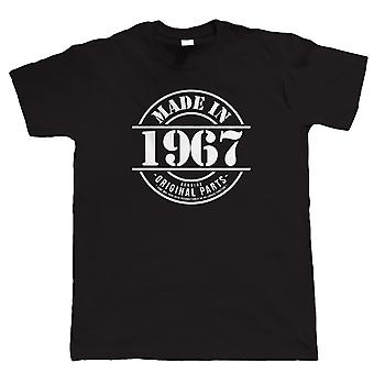 Made in 1967 Mens Funny T Shirt, 50th Birthday Gift