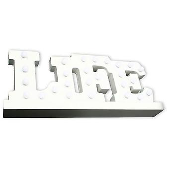 Superstudio Bright Decorative lyrics Life-White (Casa , Illuminazione , Decorativa)