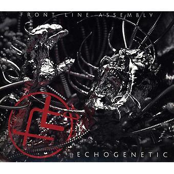 Front Line Assembly - Echogenetic [CD] USA importeren