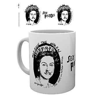 Sex Pistols God Save The Queen Mug