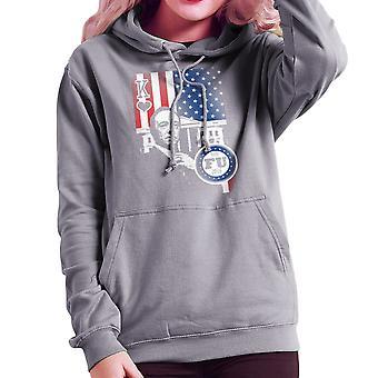 Vote FU House of Cards Frank Underwood King Women's Hooded Sweatshirt