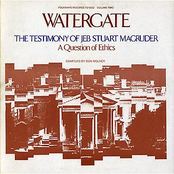 Watergate - Watergate: Vol. 2-Testimony of Jeb Stuart Macgruder [CD] USA import