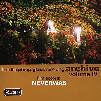 P. glas - Philip Glass: Neverwas [CD] USA import