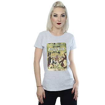 Disney kvinners Jungle Book Retro plakat t-skjorte