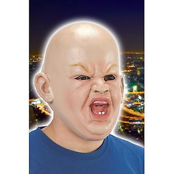 Bébé de masque masques en colère