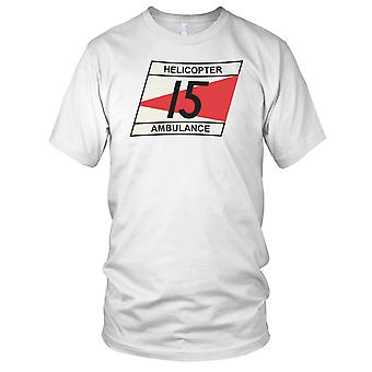 US Army Korean War 15th Medical Ambulance Clean Effect Kids T Shirt