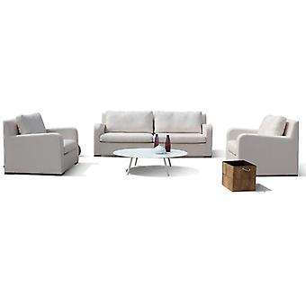 Maze Lounge Riva 2 Seat All Weather Fabric Sofa Set & Table