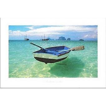 Andaman Sea Poster Poster Print