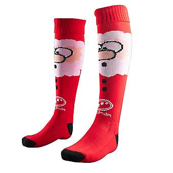 OPTIMUM christmas santa claus rugby socks [red]