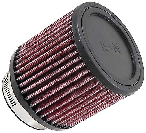 K&N RB-0900 Universal Clamp-On Air Filter  Round Straight; 3 in (76 mm) Flange ID; 4 in (102 mm) Height; 4.313 in (110 m