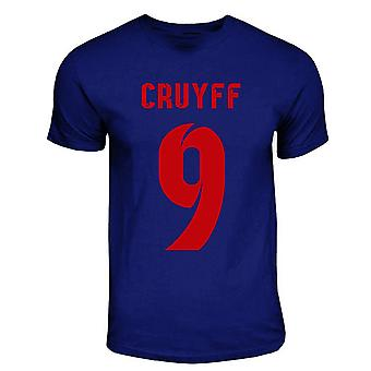 Johan Cruyff Barcelona Hero T-shirt (navy)