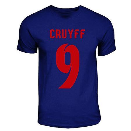 Johan Cruyff Barcelona Hero T-shirt (bleu marine)