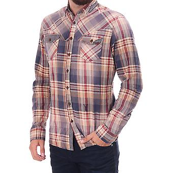 Pearly King Inflict Checked Ls Shirt