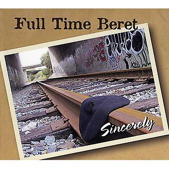 Fuld tid Beret - oprigtigt [CD] USA import