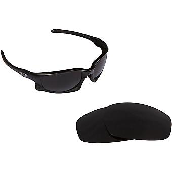 Split Jacket Replacement Lenses Advanced Black by SEEK fits OAKLEY Sunglasses