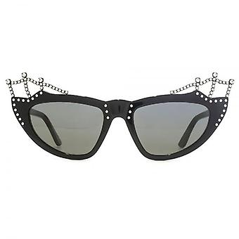Saint Laurent SL 122 Tiara Sunglasses In Black