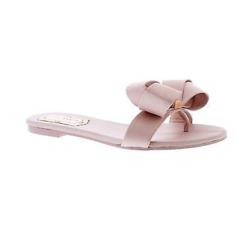 Ted Baker Beauita - Light Pink Satin (Textile) Womens Sandals