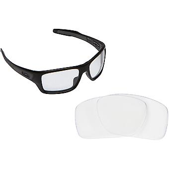 Best SEEK OPTICS Replacement Lenses for Oakley TURBINE Clear
