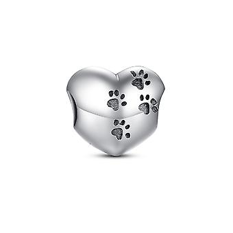 Bead 925 Silver heart charms