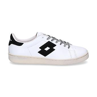 Lotto men's T0810WHITE White leather of sneakers