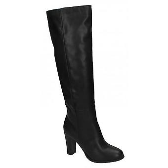 Spot On Womens/Ladies Heeled Knee High Boots