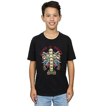 Guns N Roses jongens Skull Cross T-Shirt