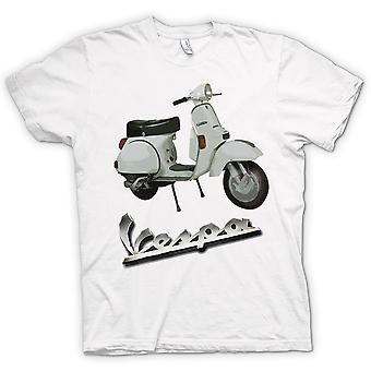 Kvinner t-skjorte - Vespa PX 200 - klassisk Scooter
