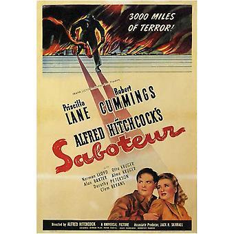 Saboteur Movie Poster (11 x 17)