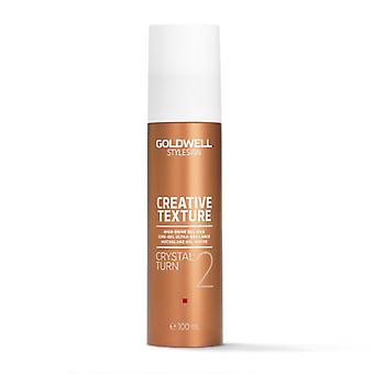Goldwell stylu znak Crystal Turn wosk żel 100ml