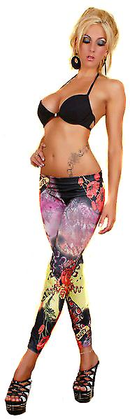 Waooh - Fashion - Leggings printed tattooing newschool - Feature