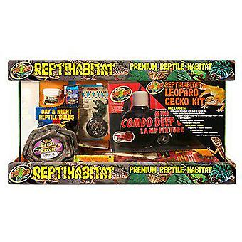 Zoo Med Terrarium Kit for Leopard Gecko (Reptiles, Terrariums)