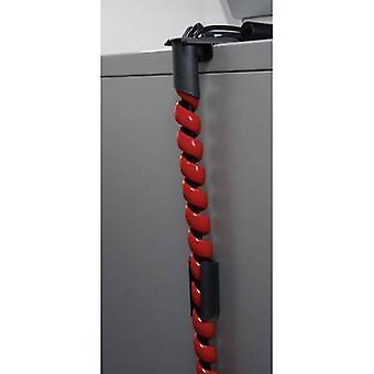 Serpa 5.04003.3002 Spiral rør 15 mm (max) røde 1 sæt