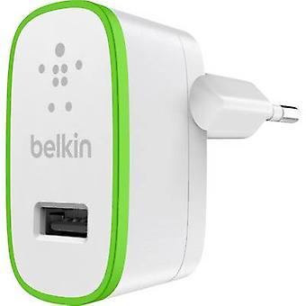 Belkin F8J040vfWHT F8J040vfWHT USB charger Mains socket Max. output current 2400 mA 1 x USB